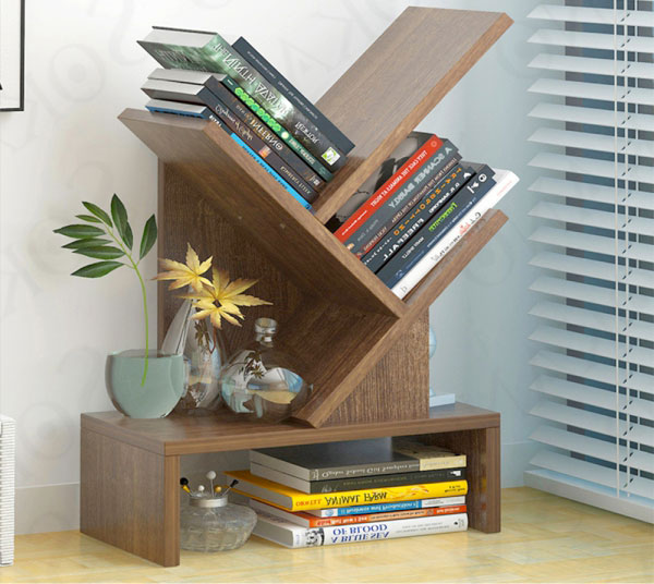 Mẫu kệ sách tiết kiệm được không gian và mang lại nhiều cảm hứng đọc sách