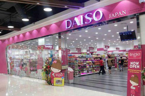 Cửa hàng đồng giá Daiso Nhật Bản