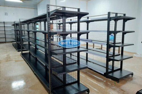 Kệ đôi màu đen do Onetech sản xuất và phân phối