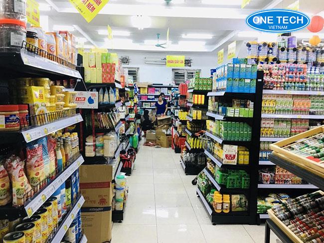 Onetech thiết kế và tối ưu không gian siêu thị