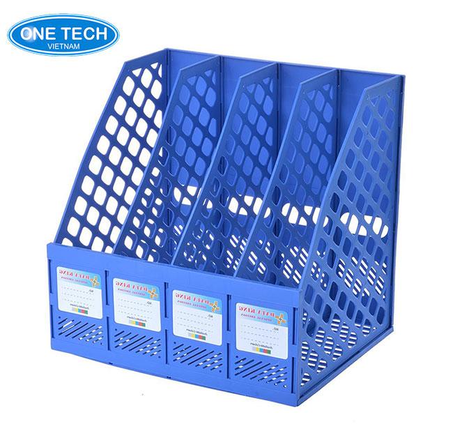 Mẫu kệ nhựa - để tài liệu, hồ sơ, đồ dùng văn phòng phẩm rất hữu ích