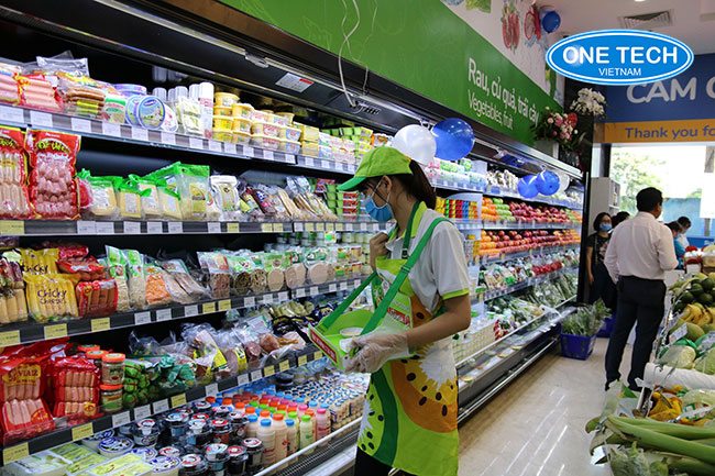 Onetech mang tới giải pháp giá kệ trưng bày sản phẩm, hàng hóa thông minh, giá rẻ tại Bắc Giang