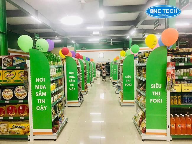 Onetech là đơn vị sản xuất và phân phối giá kệ siêu thị Thanh Hóa