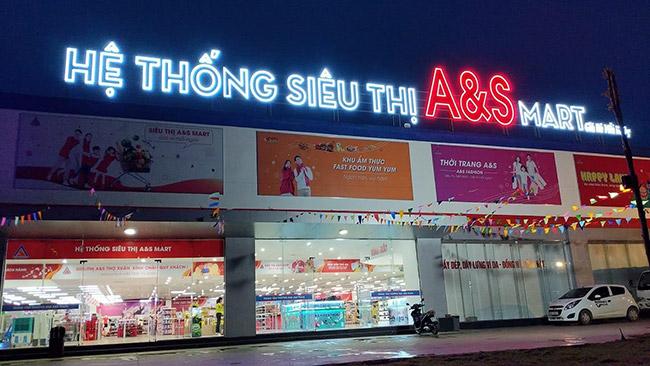 Hệ thống siêu thị A&S Mart tại Thanh Hóa