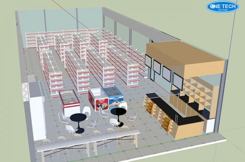 Dịch vụ tư vấn setup siêu thị, cửa hàng tạp hóa