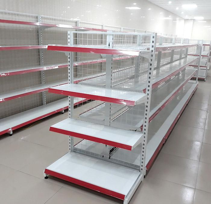Sản phẩm giá kệ siêu thị trưng bày hàng hóa trong siêu thị, cửa hàng