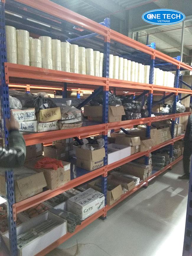 Kệ trung tải lưu trữ kho hàng