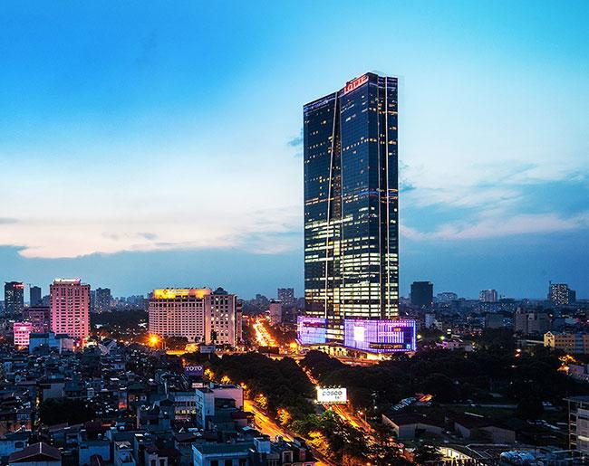 Trung tâm thương mại Lotte Shopping Center Liễu Giai, Ba Đình