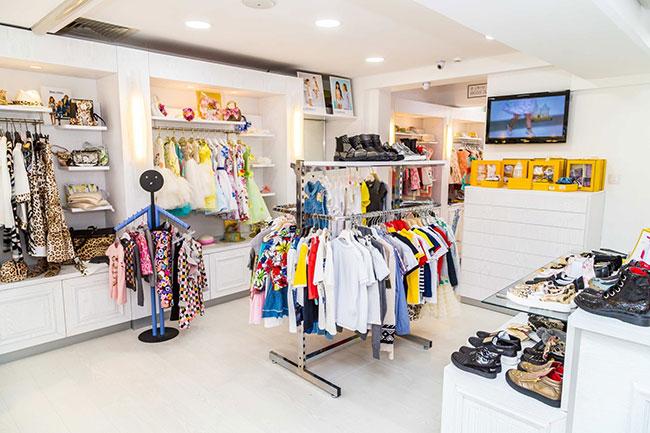 Lợi nhuận mở shop quần áo cho bé cao, quay vòng vốn nhanh