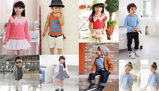 Nhu cầu về thời trang làm đẹp cho bé ngày càng lớn